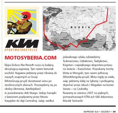 MotoSyberia2007 - wyprawy4x4